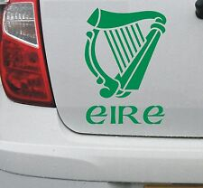 Irish harp #1 vinyl decal sticker (sml) - Ireland Eire Erin Celtic - DEC1065