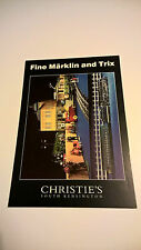 #2 Märklin vintage tin toy Christie's auction card original 1999 boat Marklin