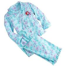 Ariel Little Mermaid Disney Princess Pajamas Gift Set for Girls Disney Size 5/6