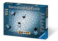 Ravensburger Jigsaw Puzzle Krypt Silver - 654 Pieces Single Color NIB