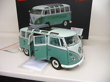 1:18 Schuco VW Volkswagen T1 Samba Bus green /white NEW FREE SHIPPING WORLDWIDE