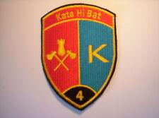 Schweizer Armee  Kata Hi Bat 4  in schwarz ca 9 x7 cm