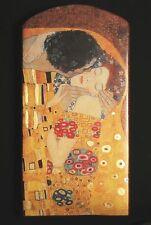 """Gustav Klimt """"Il bacio"""" di 1907 con oro massiccio pezzo unico 7 a 100 J. vecchio mattoni"""