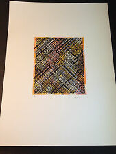 """Ed Moses """"Shago 4"""" Original Lithograph, Hand Signed & Numbered, Limited Edition"""