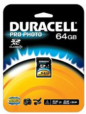 Duracell 64 GB SDXC UHS-1 Class 10 MEMORY CARD