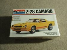 Monogram Chevy Z-28 Camaro 1:24 Scale Model Kit 1979 MISB Sealed See My Store