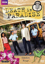 Death in Paradise: Season Four DVD, 2016, 2-Disc Set Brand New Sealed