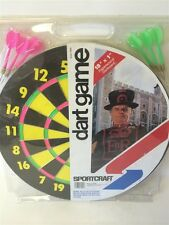 Sportcraft Dart Game with Baseball Dart Game Flipside 18x1 Paperwood Dartboard