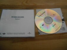 CD Rock Ryan Adams - Nuclear (1 Song) Promo ISLAND MERCURY sc + Presskit