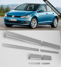VW Golf Mk7 (Released 2013) 4 Door Sill Protectors / Kick plates