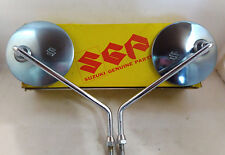Suzuki  GT125 GT185 GT250 GT380 GT550 GT750 GN RE5 Back Mirror 10mm NOS Japan