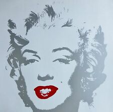 ANDY WARHOL GOLDEN MARILYN MONROE SUNDAY B.MORNING LIM ED HAND NUMBERED COA