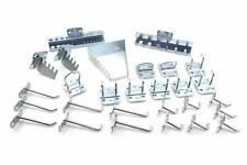 METALWORKS kit completo di ganci supporti e appendini per pannello portaattrezzi