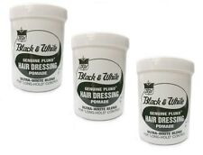 3x Black and White - Black & White HAIR DRESSING POMADE 200ml (ingesamt 600ml)