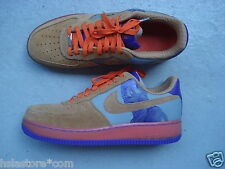 "Nike Air Force 1 low 45 ""amare"" DK stucco/Miners Gold-CRT purp 25th anvy"