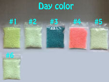 Glow in the dark Luminous Coarse Sand 2-5mm 100g FISH TANK AQUARIUM ornament