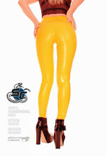 Sleekcheek UltraContour Cameltoe VERNICE Leggings hl2ax Giallo-Taglia M