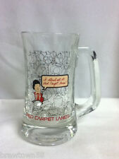 Red Carpet Lanes bowling glass mug bowler bowl lane beer glasses 1 bar drink LH3