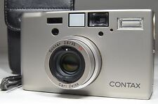 "CONTAX T3 ""double teeth"" Point & Shoot 35mm Film Camera #a0572 Near MINT"