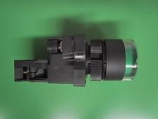 1 Stück Ersatzteil Drucktaster grün 240Volt  mit LED nicht rastend  ETYC3-02 LED