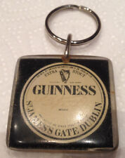 GUINNESS STOUT Keyring Vintage Irish Key Ring GUINNESS RARE Collectable Dublin