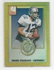 2000 Roger Staubach Donruss Elite Passing the Torch Card Serially #1220/1500