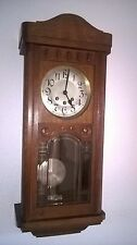 0050- Antique German Mauthe  Westminster chime wall clock  NOT ODO