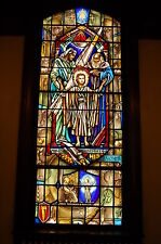 "+Stained Glass Window #3 of 16, ""Jesus in the Temple""+ Made by J.R. Lamb Studios"