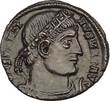 Constantine I The Great 330AD Ancient Roman Coin Glory of Arny Legions i53044