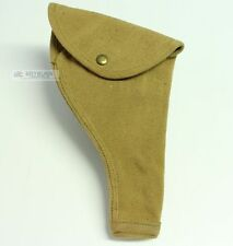 Canadian WW2 P37 Khaki Web Webley Mk6 Holster - Unissued - Original (Not Repro)