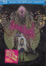 SUCKER PUNCH-LIMITED ED.'COMIC CON' 4 DISC BLURAY STEELBOOK + CD-NEW/RARE/OOP!!!