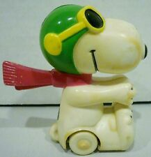 Aviva Peanuts Snoopy Red Baron Flying Ace Friction Vehicle Toy