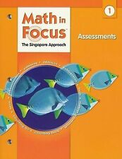 Math in Focus Grade 1 Assessments 2009. The Singapore Approach  9780669015997