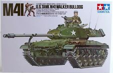 Tamiya U.S. M41 Walker Bulldog tank model kit 1/35