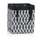 Thirty One Essential Storage Tote Black Links Beach Grocery Laundry Shopping Bag