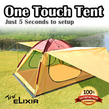 Elixir Instant Easy Setup 6 Person Tent Camping Hiking Outdoor Simple Install