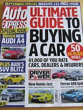 AUTO EXPRESS MAGAZINE SPECIAL ISSUE 1381 ULTIMATE GUIDE TO BUYING A CAR HONDA JA