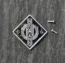 NEUMANN ORIGINAL U47/ U48 Microphone Badge/Logo -  1950's