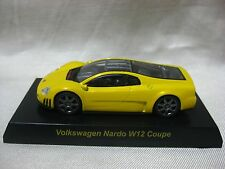 Nardo W12 Coupe Yellow Volkswagen series Kyosho 1:64 Scale Diecast Model Car