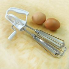 New Vintage Stainless Steel Rotary Hand Mixer Egg Beater Kitchen Cooking Tools