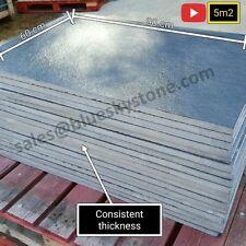 Black Limestone Slate Paving Slabs Garden Patio Slabs 5m2 90x60cm - FREE SAMPLE