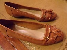 dolcis womens leather brogue style shoes with low heel size 39 or 5 / 5.5
