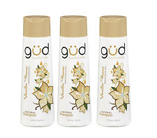 3 Pack Gud By Berts Bees Vanilla Flame Natural Nourishing Shampoo, 12 Fl Oz