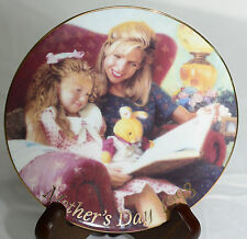 """Avon Mother's Day 1998 Decorative Plate """"Special Moments"""" Mike Wimmer Art 5"""""""