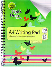 Poly Prop A4 Writing Pad,160 Pages of Premium Quality Paper,Perforations(1003/C)