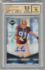 2011 Panini Limited RYAN KERRIGAN RC Rookie Auto Silver SP /199 BGS 9.5/10 POP 1
