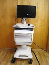 """Lionville Hospital Mobile Medical CPU Cart Pill Charger 19"""" Monitor Adjustable"""