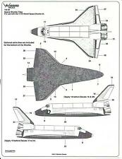 Warbird Space Shuttle Tile Decals for Revell Kit  1/144 04
