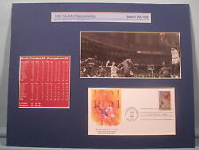 UNC are 1982 NCAA Basketball Champs & First Day Cover