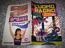 SETTIMANALE L'UOMO RAGNO 2° SERIE N.15 ORIGINALE CORNO 1982 TIPO F4 DEVIL THOR